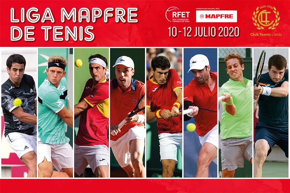 Roberto Bautista y Pablo Carreño liderarán los equipos de la Liga MAPFRE de Tenis en la primera cita del CT Lleida