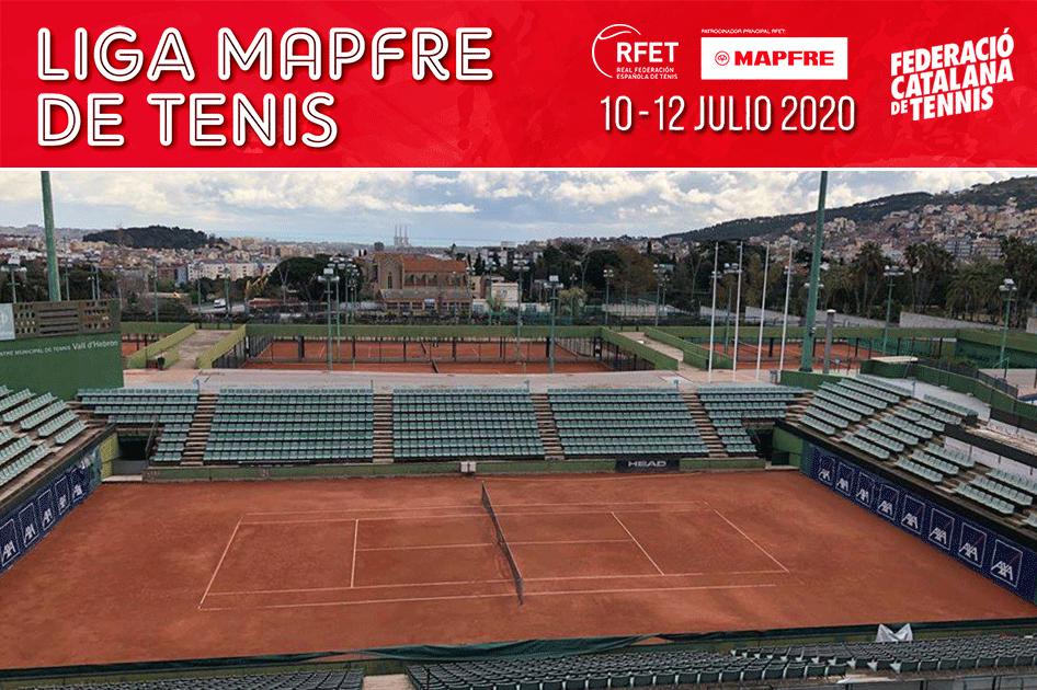 El torneo inaugural de la Liga MAPFRE de Tenis previsto en el CT Lleida se traslada al CMT Vall d'Hebron en Barcelona