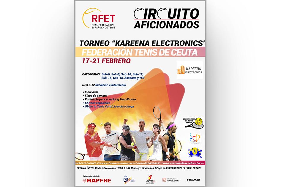 El Circuito Aficionados RFET 2021 se pone en marcha en Ceuta