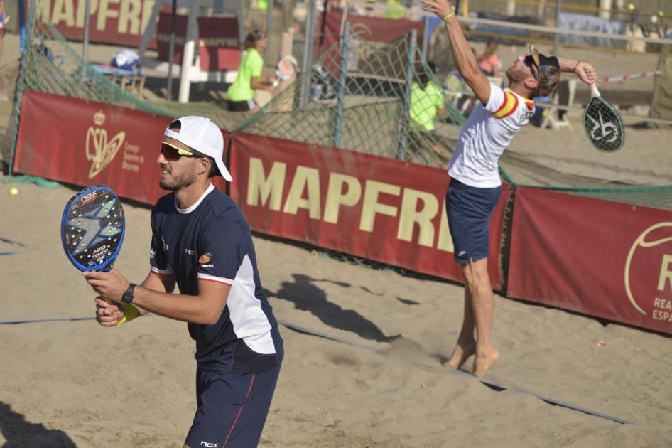 Las finales del Campeonato de España MAPFRE de Tenis Playa se verán en TV  por primera