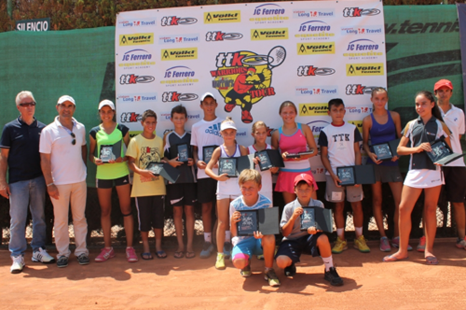 Penúltima cita del circuito juvenil TTK Warriors Tour en Alicante
