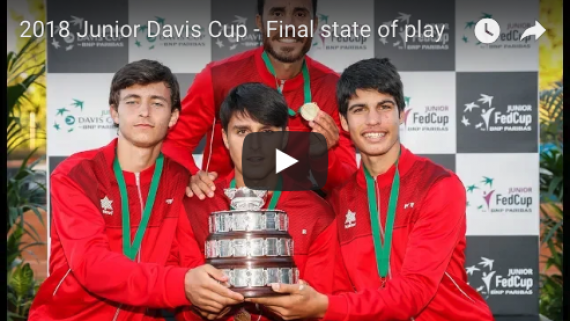 Final Copa Davis Junior 2018 (Resumen y Entrevistas)
